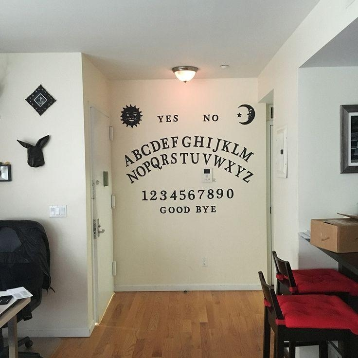 Best 25+ Ouija Ideas On Pinterest | Scary Halloween, Awesome Pertaining To Ouija Board Wall Art (Image 4 of 20)