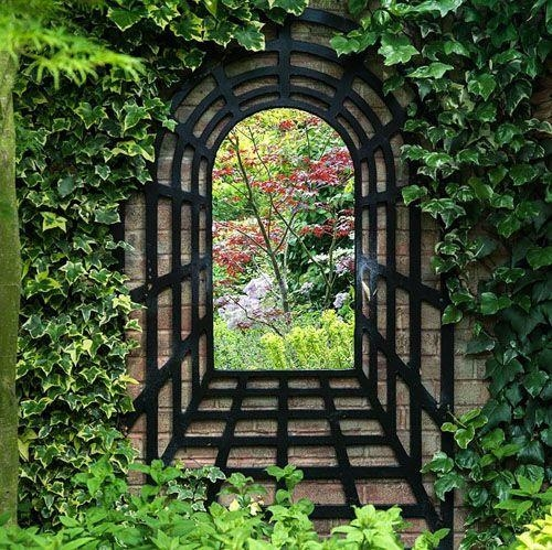 Best 25+ Outdoor Mirror Ideas On Pinterest | Garden Mirrors Throughout Outdoor Mirror Wall Art (View 3 of 20)