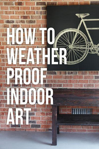 Best 25+ Outdoor Wall Art Ideas On Pinterest | Outdoor Art, Garden Intended For Hanging Wall Art For Brick Wall (View 20 of 20)