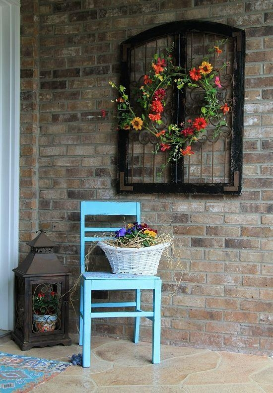 Best 25+ Outdoor Wall Decorations Ideas On Pinterest | Outdoor With Hanging Wall Art For Brick Wall (Image 14 of 20)