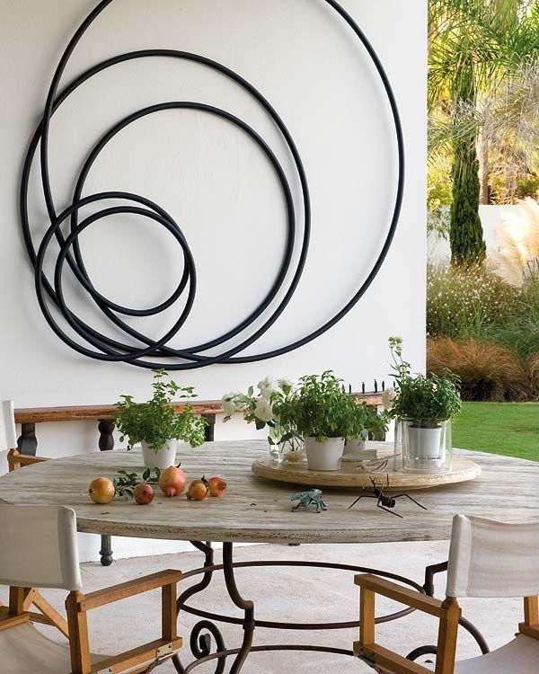 Best 25+ Outdoor Wall Decorations Ideas On Pinterest | Outdoor With Iron Art For Walls (Image 12 of 20)