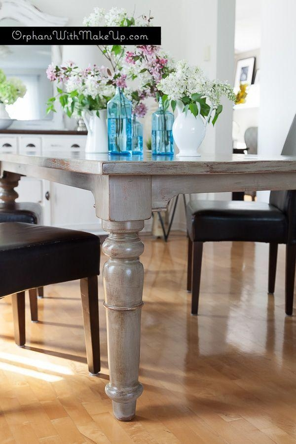 Best 25+ Paint Dining Tables Ideas On Pinterest | Distressed Pertaining To Most Recently Released Painted Dining Tables (View 9 of 20)