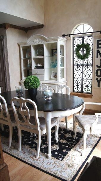 Best 25+ Paint Dining Tables Ideas On Pinterest | Distressed Throughout 2018 Painted Dining Tables (View 2 of 20)