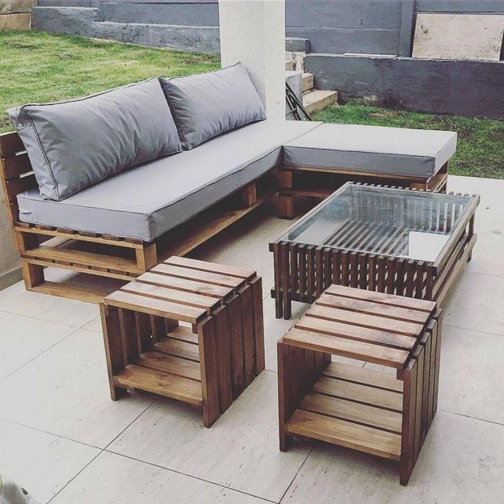 Best 25+ Pallet Furniture Ideas On Pinterest | Pallet Sofa, Pallet Inside Pallet Sofas (View 11 of 20)