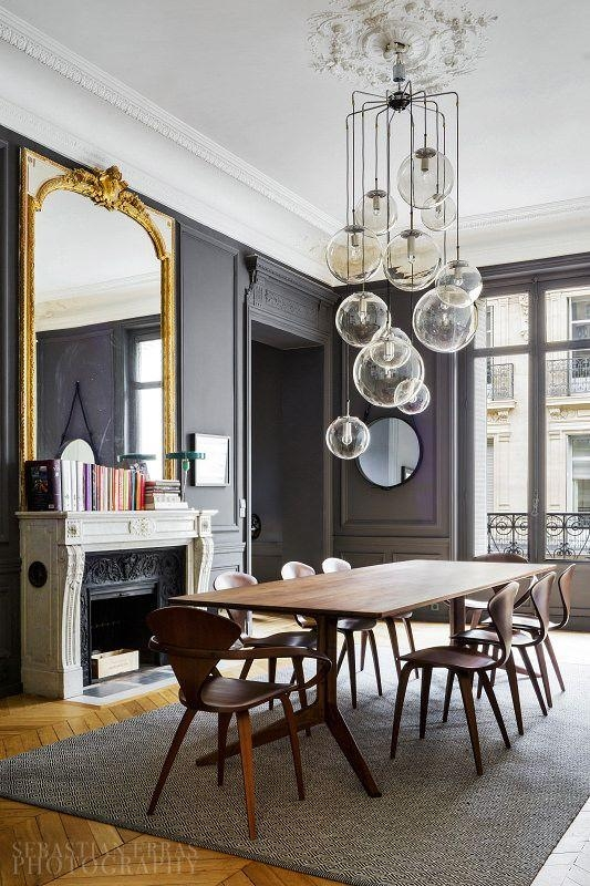 Best 25+ Paris Apartment Interiors Ideas On Pinterest | Paris Within 2018 Paris Dining Tables (View 19 of 20)