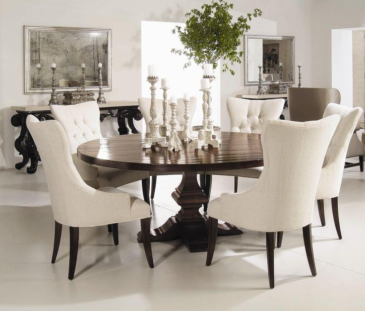 Best 25+ Pedestal Dining Table Ideas On Pinterest | Square Dinning In 2018 Pedestal Dining Tables And Chairs (View 6 of 20)