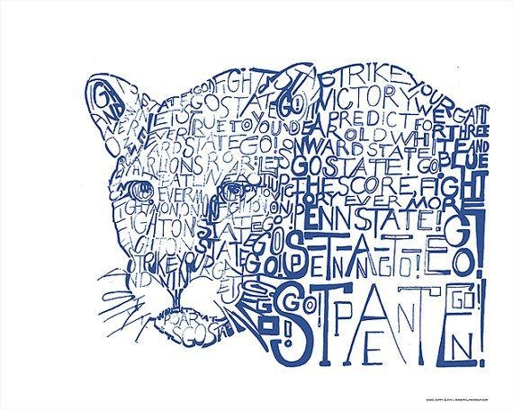 Best 25+ Penn State Logo Ideas On Pinterest | Penn St Football Throughout Penn State Wall Art (View 15 of 20)