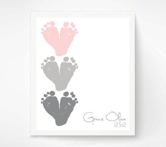 Best 25+ Pink Gray Nurseries Ideas On Pinterest | Gray Nurseries Inside Personalized Baby Wall Art (Image 8 of 20)