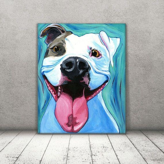 Best 25+ Pit Bull Art Ideas On Pinterest | Pit Dog, Pictures Of Inside Pitbull Wall Art (Image 4 of 20)