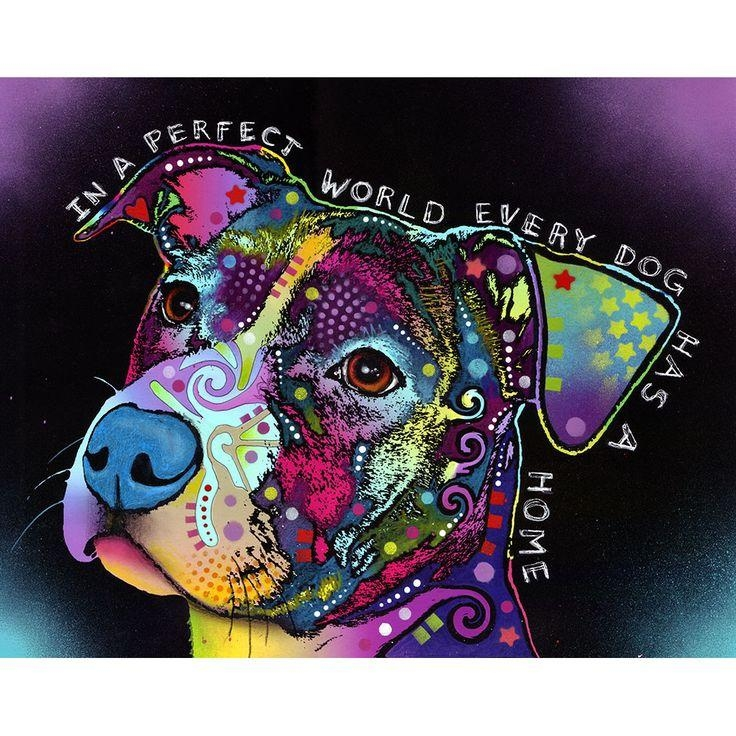 Best 25+ Pit Bull Art Ideas On Pinterest | Pit Dog, Pictures Of Inside Pitbull Wall Art (Image 3 of 20)