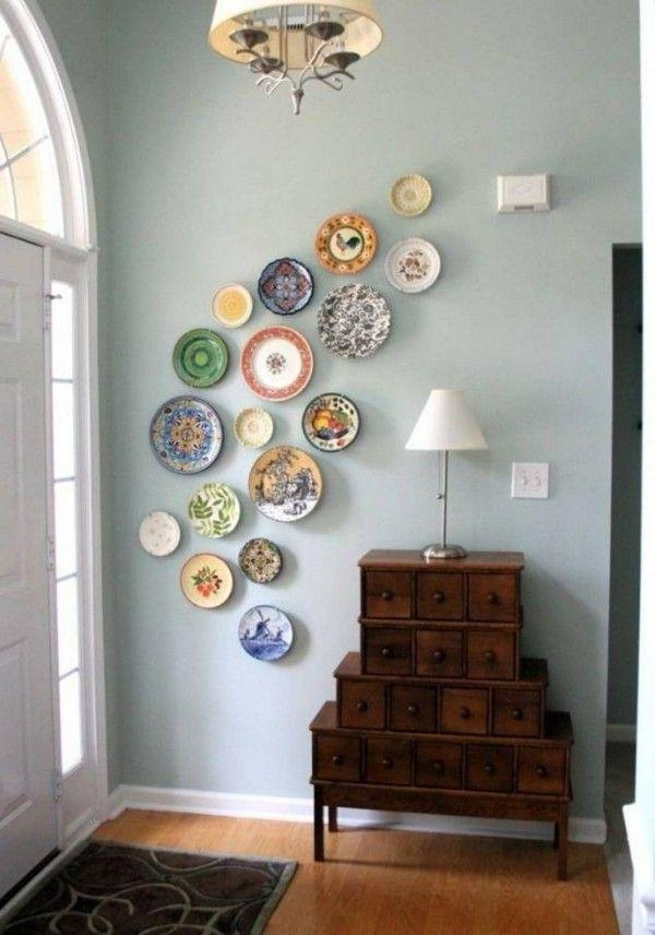 Best 25+ Plate Wall Decor Ideas On Pinterest | Plate Wall, Plates For Decorative Plates For Wall Art (Image 2 of 20)
