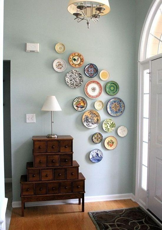Best 25+ Plate Wall Decor Ideas On Pinterest | Plate Wall, Plates With Decorative Plates For Wall Art (Image 5 of 20)