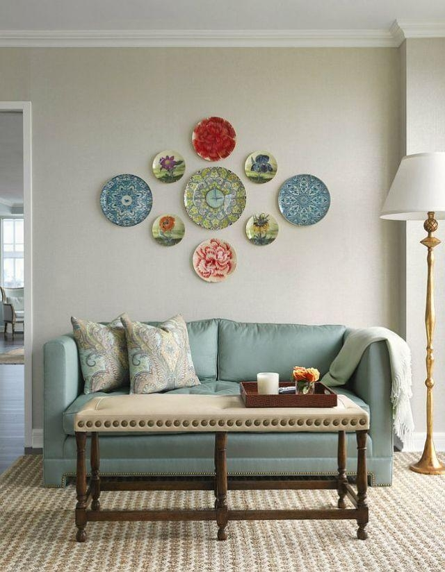Best 25+ Plates On Wall Ideas On Pinterest | Hanging Plates, Plate Intended For Decorative Plates For Wall Art (Image 6 of 20)