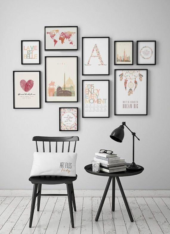 Best 25+ Poster Wall Ideas On Pinterest | Modern Futon Frames With Wall Art Frames (Image 4 of 20)