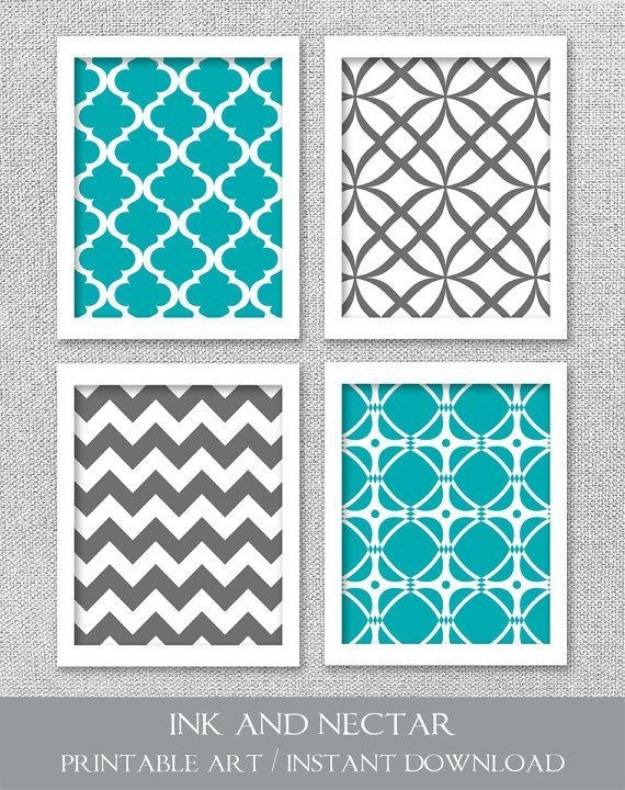 Best 25+ Printable Wall Art Ideas On Pinterest | Diy Framed Wall With Regard To Pattern Wall Art (Image 11 of 20)