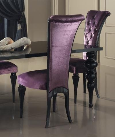 Best 25+ Purple Dining Rooms Ideas On Pinterest | Purple Dining With Regard To 2017 Dining Tables And Purple Chairs (View 9 of 20)