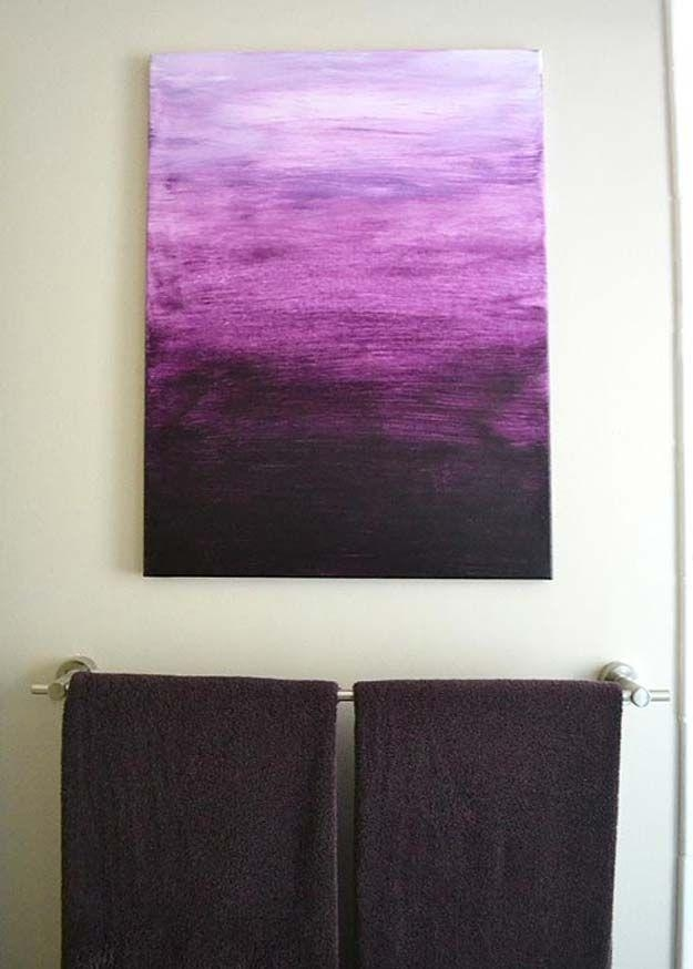 Best 25+ Purple Wall Art Ideas On Pinterest | Purple Printed Art Intended For Purple Wall Art For Bedroom (Image 4 of 20)