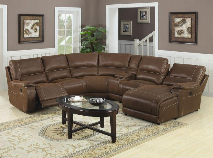 Best 25+ Reclining Sectional Sofas Ideas On Pinterest | Reclining For Traditional Leather Sectional Sofas (View 14 of 20)