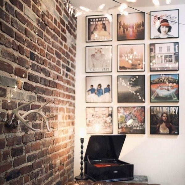 Best 25+ Record Wall Ideas On Pinterest | Record Wall Art, Record In Hanging Wall Art For Brick Wall (Image 15 of 20)
