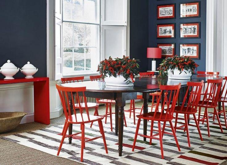 Best 25+ Red Dining Chairs Ideas On Pinterest | Polka Dot Chair With Regard To 2017 Red Dining Chairs (View 10 of 20)
