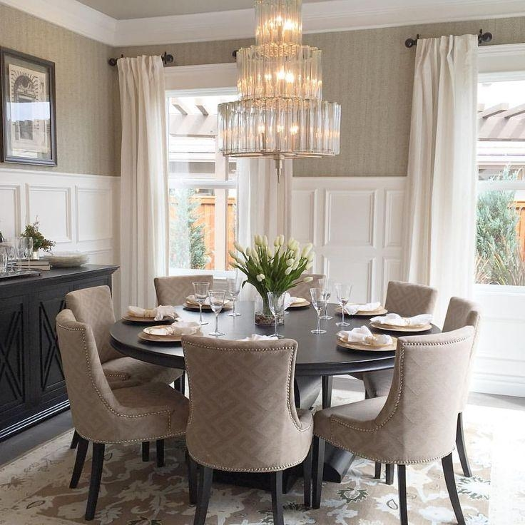 Best 25+ Round Dining Table Ideas On Pinterest | Round Dining Room Inside Best And Newest Round Dining Tables (Image 6 of 20)
