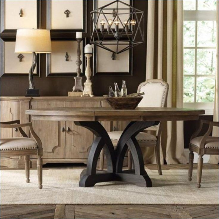 Best 25+ Round Dining Tables Ideas On Pinterest | Round Dining With Regard To 2018 Dark Solid Wood Dining Tables (Image 4 of 20)
