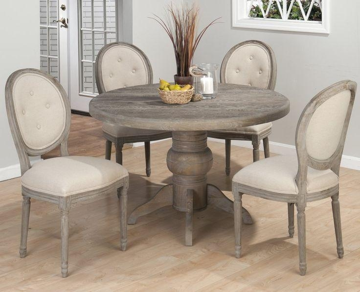 Best 25+ Round Dinning Table Ideas On Pinterest | Round Dining Throughout Most Current Pedestal Dining Tables And Chairs (Image 9 of 20)