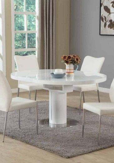 Best 25+ Round Extendable Dining Table Ideas On Pinterest Regarding Recent White Extending Dining Tables And Chairs (View 20 of 20)