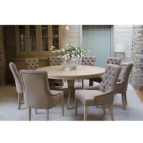 Best 25+ Round Oak Dining Table Ideas On Pinterest | Round Intended For Latest Oak Round Dining Tables And Chairs (Image 3 of 20)
