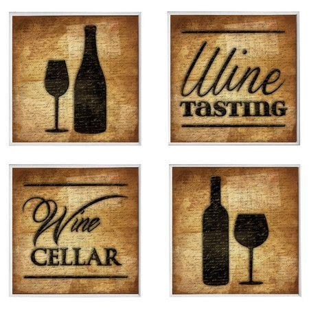 Best 25+ Rustic Wine Cellar Products Ideas On Pinterest | Asian Pertaining To Wine Themed Wall Art (View 10 of 20)