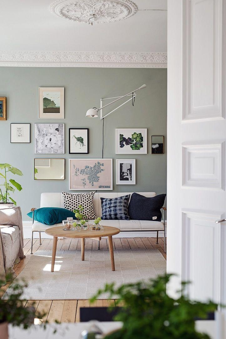 Best 25+ Sage Green Walls Ideas On Pinterest | Living Room Green With Wall Art For Green Walls (Image 14 of 20)