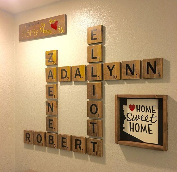 Best 25+ Scrabble Wall Tiles Ideas On Pinterest For Scrabble Letters Wall Art (Image 6 of 20)
