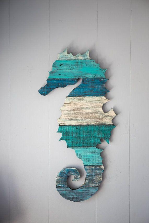 Best 25+ Seahorse Decor Ideas On Pinterest | Seahorse Painting Intended For Sea Horse Wall Art (Image 7 of 20)