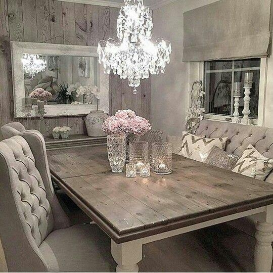 Best 25+ Shabby Chic Dining Ideas On Pinterest | Shabby Chic For Most Recent Shabby Chic Dining Sets (Image 4 of 20)