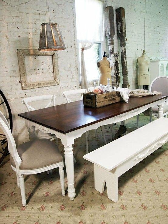 Best 25+ Shabby Chic Dining Ideas On Pinterest | Shabby Chic With Regard To 2018 Shabby Chic Dining Sets (Image 6 of 20)