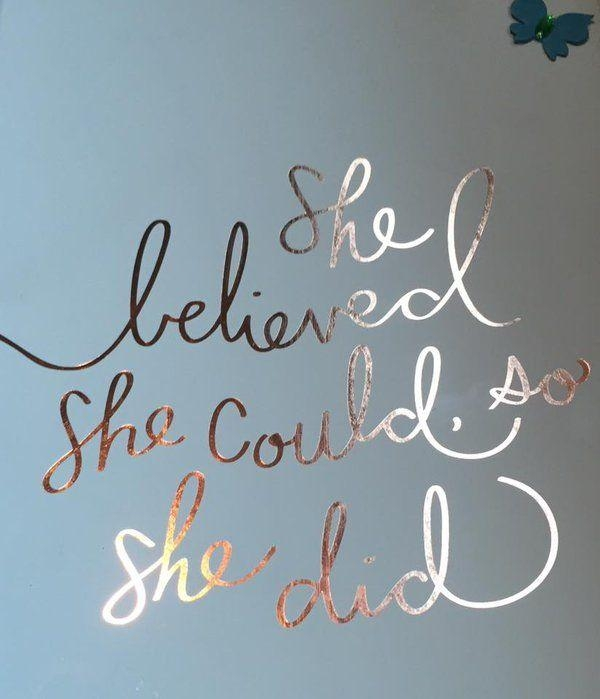 Best 25+ She Believed She Could Ideas On Pinterest | She Did Intended For She Believed She Could So She Did Wall Art (Image 3 of 20)