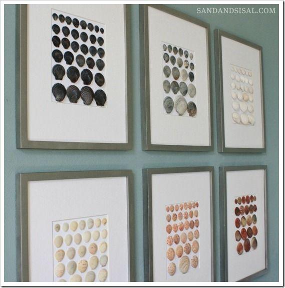Best 25+ Shell Art Ideas On Pinterest | Shell Crafts, Seashell Art With Wall Art With Seashells (Image 11 of 20)