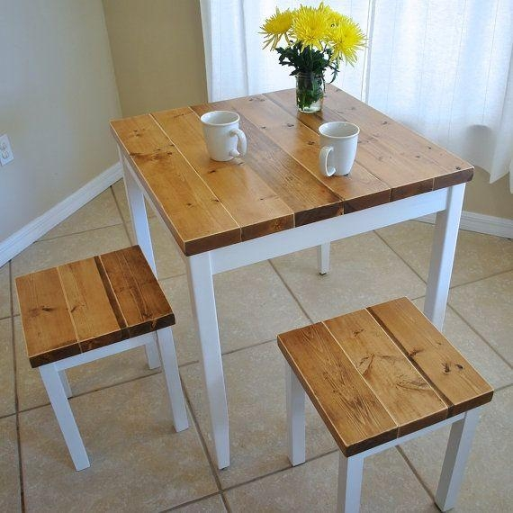 Best 25+ Small Dining Table Set Ideas On Pinterest | Small Dining Inside Most Recent Cheap Dining Tables Sets (Image 4 of 20)