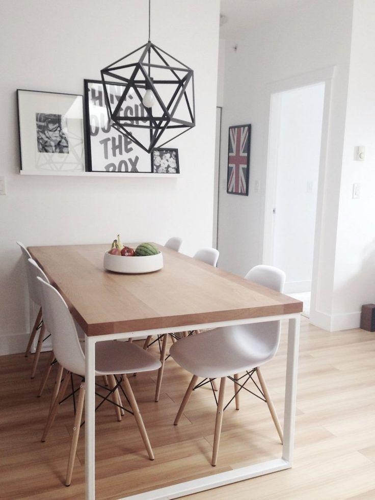 Best 25+ Small Dining Tables Ideas On Pinterest | Small Dining With Regard To 2017 Modern Dining Suites (View 10 of 20)