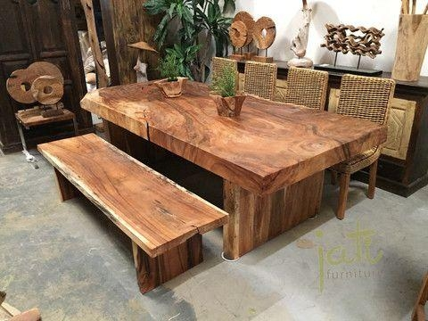 Best 25+ Solid Wood Table Ideas On Pinterest | Solid Wood Dining For Newest Solid Wood Dining Tables (Image 4 of 20)