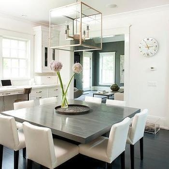 Best 25+ Square Dining Tables Ideas On Pinterest | Large Dining With Most Current Shiny White Dining Tables (Image 4 of 20)