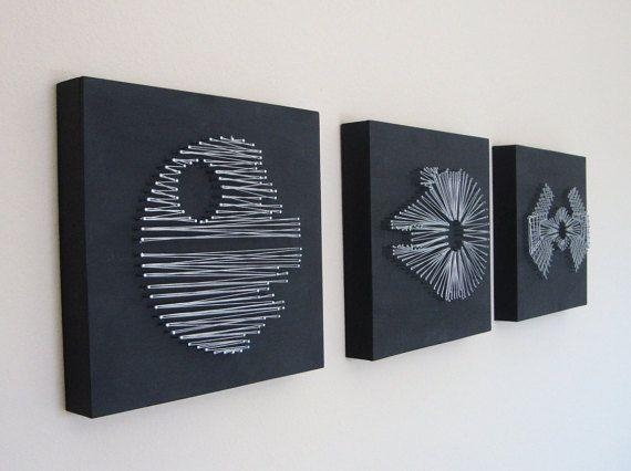 Best 25+ Star Wars Crafts Ideas On Pinterest | Star Wars Art With Regard To Diy Star Wars Wall Art (Image 4 of 20)