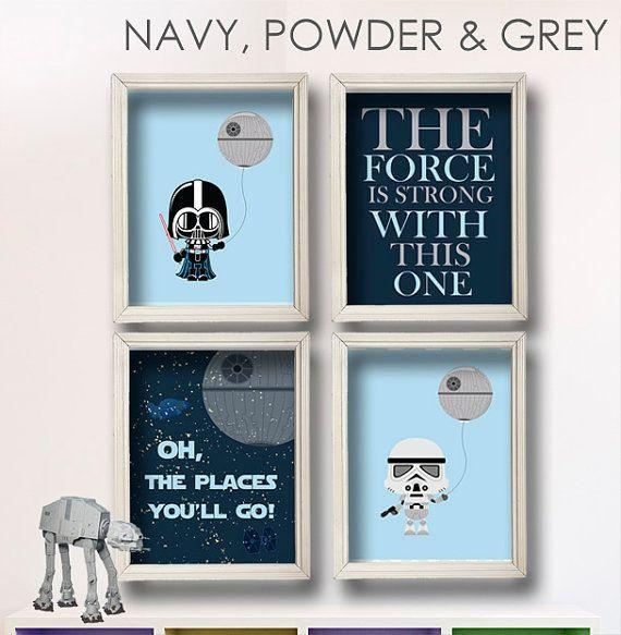 Best 25+ Star Wars Nursery Ideas On Pinterest | Star Wars Baby In Diy Star Wars Wall Art (Image 6 of 20)