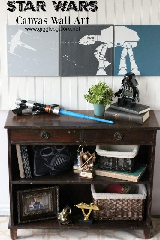 Best 25+ Star Wars Wall Art Ideas On Pinterest | Geek Art, Great In Diy Star Wars Wall Art (View 12 of 20)