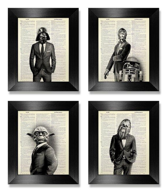 Best 25+ Star Wars Wall Art Ideas On Pinterest | Geek Art, Great Pertaining To Diy Star Wars Wall Art (View 20 of 20)
