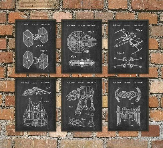Best 25+ Star Wars Wall Art Ideas On Pinterest | Geek Art, Great Throughout Diy Star Wars Wall Art (View 15 of 20)