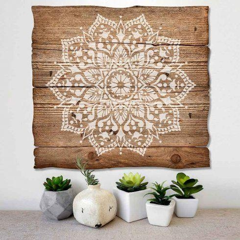 Best 25+ Stencil Wall Art Ideas On Pinterest | Diy Stenciled Walls For Stencil Wall Art (Image 1 of 20)