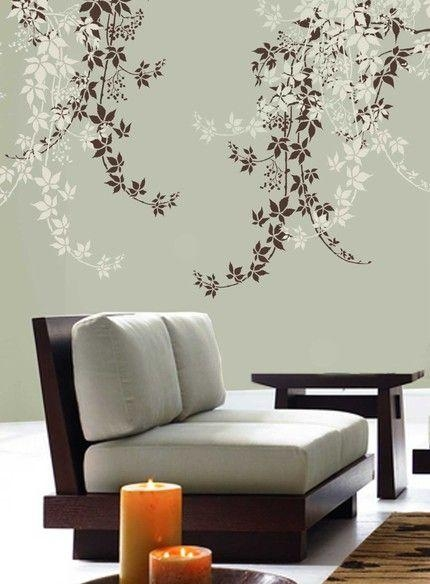 Featured Image of Stencil Wall Art