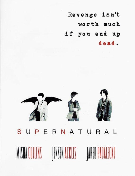 Best 25+ Supernatural Poster Ideas On Pinterest | Supernatural Inside Supernatural Wall Art (Image 4 of 20)
