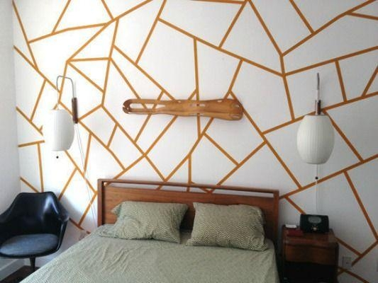 Best 25+ Tape Wall Art Ideas On Pinterest | Masking Tape Wall Regarding Duct Tape Wall Art (Image 7 of 20)